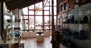 Ausstellungsraum von Nele Zander Keramik