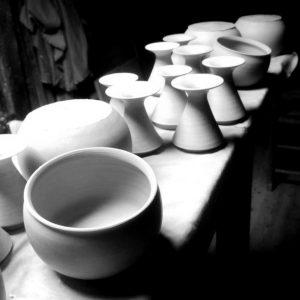 aus der Werkstatt Fahrenholzer Straße 24. Nele Zander Keramik