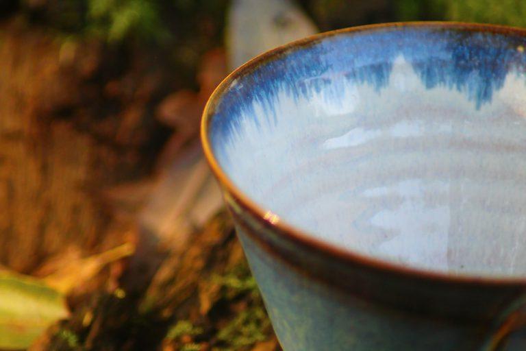 Nele Zander Keramik Tasse Detail