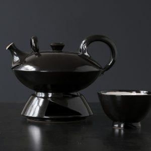 Nele Zander Teekanne schwarz